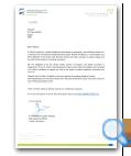 Al Jalila Foundation letter