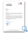 Disabled Children's Association letter