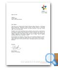 Dubai Cares letter